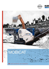 Borchure MOBICAT - Track-mounted jaw crusher