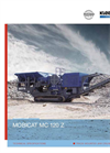 Model MC 120 Z - Track-Mounted Jaw Crusher Brochure
