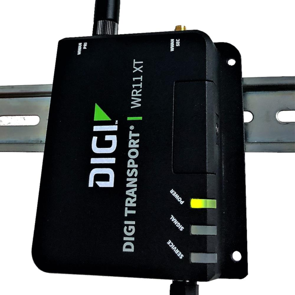 Digi TransPort - Model WR11 XT - Low Cost Industrial Cellular 4G LTE Router