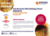 21st Reservoir Microbiology Forum (RMF2015) Brochure