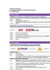 Third Biennial Human Factors Conference 2015 - Programme