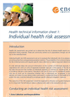 Health Technical Information Sheets - Brochure
