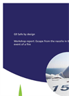 G9 Safe by Design Workshop Report: Escape From the Nacelle in the Event of a Fire - Brochure