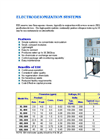 EDI Series Electrodeionization Systems Brochure (PDF 149 KB)