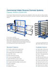 RO-300 Series - Commercial Reverse Osmosis Systems -  Brochure