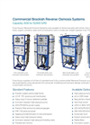 Commercial Reverse Osmosis System RO 200 Series