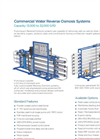 Commercial Reverse Osmosis Systems RO-300 Series