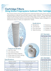 String Wound Sediment Filter Cartridges