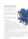 Industrial Water Softeners SF-100S Series
