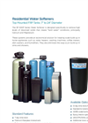 Residential Water Softeners SF-500F Series