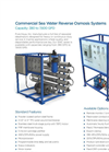 Commercial Sea Water Reverse Osmosis SWC Series