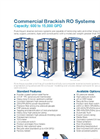 Pure Aqua - Model RO-200 Series - Commercial Reverse Osmosis RO Systems Brochure