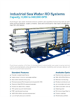Pure Aqua - Model SWI - Industrial Seawater Reverse Osmosis Desalination Systems Brochure