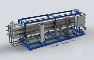 Model RO 500 Series - Industrial Brackish Water Reverse Osmosis Systems