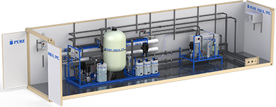 Model CWT Series - Containerized Water Treatment Systems