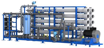 Pure Aqua - Model SWI Series - Industrial Sea Water Reverse Osmosis Systems
