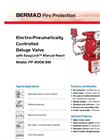 Classic - Model FP 400E-3M - Electro-Pneumatically Controlled Deluge Valve Brochure