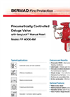 Classic - Model FP 400E-4M - Pneumatically Controlled Deluge Valve Brochure
