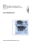 Air Systems - Model BB50-COPM - Breathing Air Panel Mount Systems  Manual