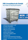 Model 660 - 1280 Liter - Refuse Collection Container - Brochure