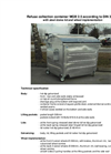 Model MGB 2,5 m³ - Metal Refuse Container Brochure