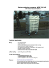 Model MGB 720 / 870 l HR - Metal Refuse Container Brochure