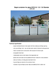 Model DCG 2,0 / 2,7 / 3,0 / 3,4 m³ - Recycling Containers Brochure