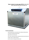 Model DCP 2,0 / 2,7 / 3,0 / 3,4 / 3,6 m³ - Recycling Containers Brochure