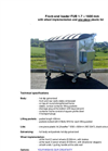 Model FUB 1,7 m³ - Front End Loaded Container Brochure