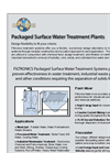 Packaged Surface Water Treatment Plants