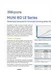 EM-Pure - Muni RO LE Series - Membrane Elements for Municipal Drinking Water Plants Brochure