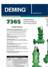 Deming - Non- Clog Vertical Column Sump Pumps Brochure