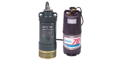 Barnes - Prosser Portable Electric Submersible Dewatering Pump