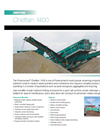 Chieftain - Model 1400 / 1400S - Mobile Screening Equipment Brochure