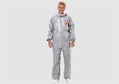 DuPont Tychem - Model 6000 F - Chemical Safety Overall Coveralls