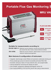 VARIOplus - Model EN ISO 16911-1/14789 - Portable Analyzers - Brochure