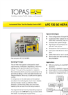 Model AFC 132 QC - HEPA Filter Element Quality Control Test System Brochure