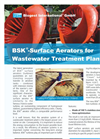 """BSK®-Surface Aerators for Wastewater Treatment Plants"" Brochure"