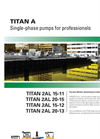 Titan - Submersible Drainage Pumps - Brochure