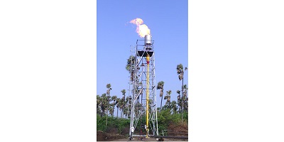 Flare for Landfill Gas & Biogas
