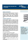 PW Series - Vibrating Wire Piezometers Brochure