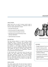 RocTest - Model ANCLO - Anchor Load Cell - Brochure