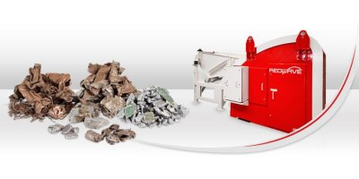 REDWAVE - Model XRF-M - Metal Sorting Machine Capable of Recognising Material and Element