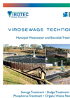 ViroSewage - Municipal Wastewater and Biosolids Treatment Brochure