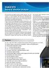 SVAN - Model 979 - Sound & Vibration Analyzer Brochure