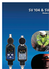 Model SV 104IS - Noise Dosimeter Brochure
