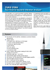 SVAN - Model 958A - Four-Channel Sound & Vibration Analyser Brochure