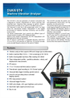 SVAN - Model 974 - Vibration Level Meter and Analyser Brochure