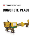 Bid-Well - CP-240 - Concrete Placers – Brochure