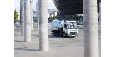 Johnston Sweepers - Model VS501 - Truck Mounted Road Sweeper